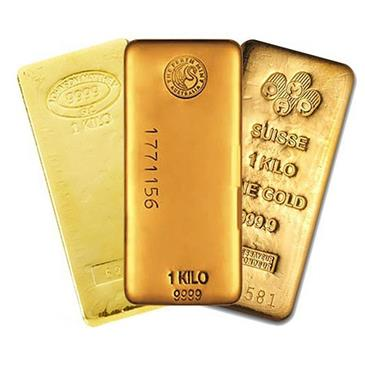 BX products 1 Kilo (32.15 oz) Generic Gold Bar .999 Fine (IRA-approved)