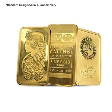BX products 10 oz Generic Gold Bar .999+ Fine (Secondary Market)