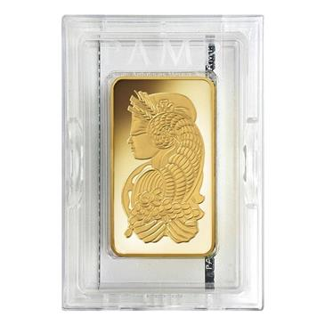 BX products 10 oz PAMP Suisse Lady Fortuna Gold Bar .9999 Fine (In Assay)