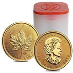 2019 1 oz Canadian Gold Maple Leaf $50 Coin .9999 Fine BU